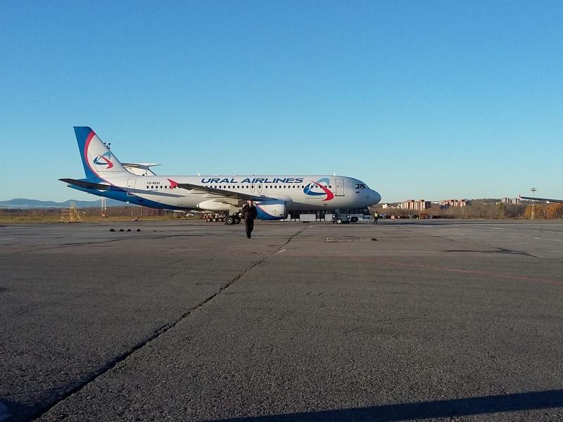 А320 VQ-BDM, Уральские Авиалинии
