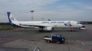Airbus A321-231, Уральские Авиалинии, VQ-BOC