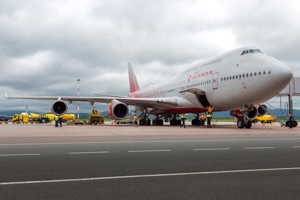 Boeing 747-400 Росссия