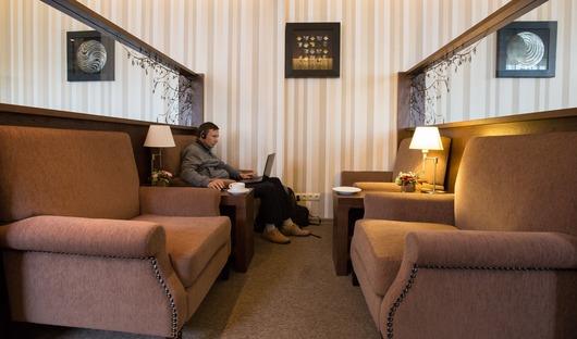 Для VIP пассажиров в аэропорту Южно-Сахалинска открыли новый бизнес-зал.