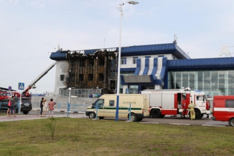 Стала известна причина пожара в аэропорту Благовещенска