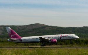 авиакомпания Вим-авиа в аэропорту Магадана