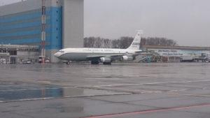 Самолет американской разведки совершил вынужденную посадку в аэропорту Хабаровска
