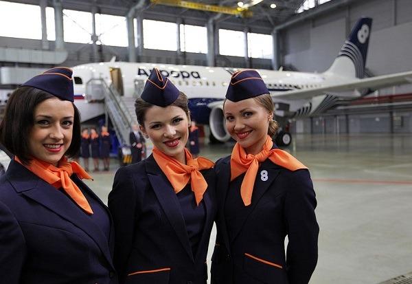 Авиакомпания Аврора попала в десятку лучших компаний России