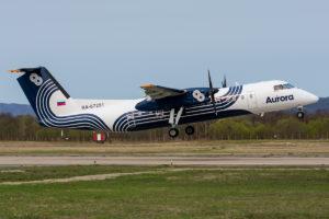 Внутрирегиональные перевозки авиакомпании Аврора бьют рекорды