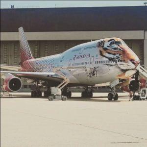 В парке авиакомпании Россия появился Тигролет
