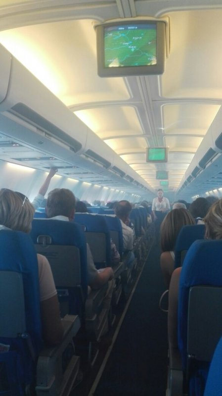 Задымление салона самолета на рейсе из Благовещенска