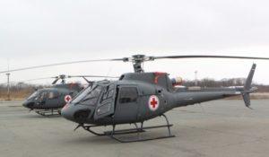 Медицинские вертолеты Приморья работают в полную силу