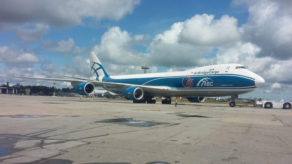 Boeing 747-8F, AirBridgeCargo, VQ-BLQ