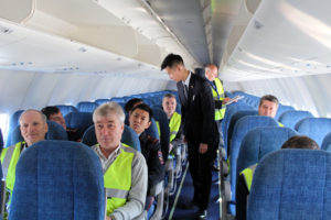Авиакомпания Якутия провела антитеррористические учения