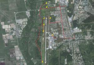 Места для споттинга в аэропорту Южно-Сахалинска
