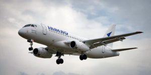 Суперджет авиакомпании ИрАэро начал выполнять рейс во Владивосток