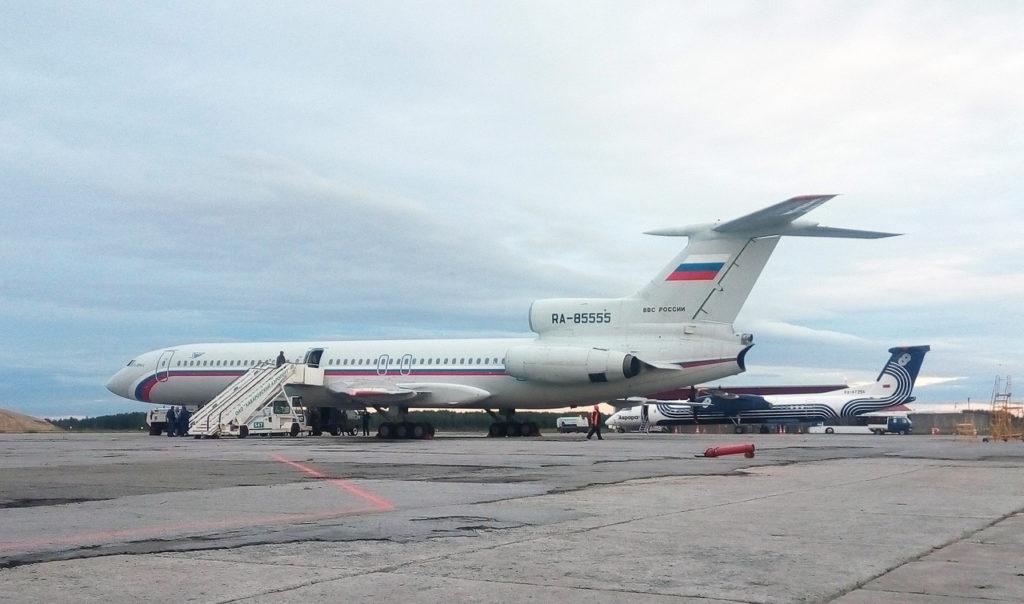 Ту-154б-2, ВВС России, RA-85555