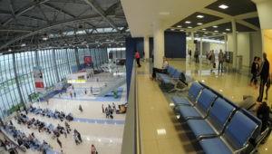 В аэропорту Владивостока наблюдается ежемесячный рост пассажиропотока