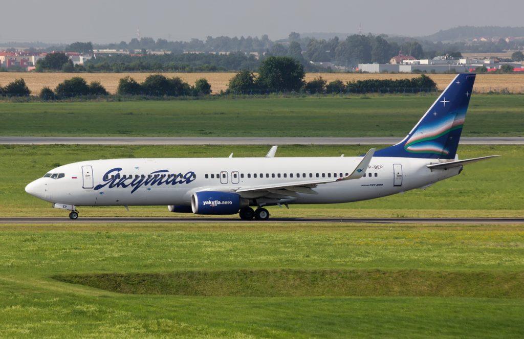 Вынужденная посадка в Новосибирске самолета авиакомпании Якутия