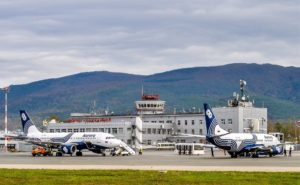 Аэропорт Южно-Сахалинска снова принимает самолеты ежедневно