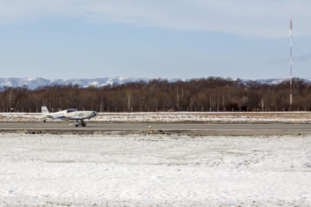 Британский путешественник вылетел из аэропорта Южно-Сахалинска в Японию
