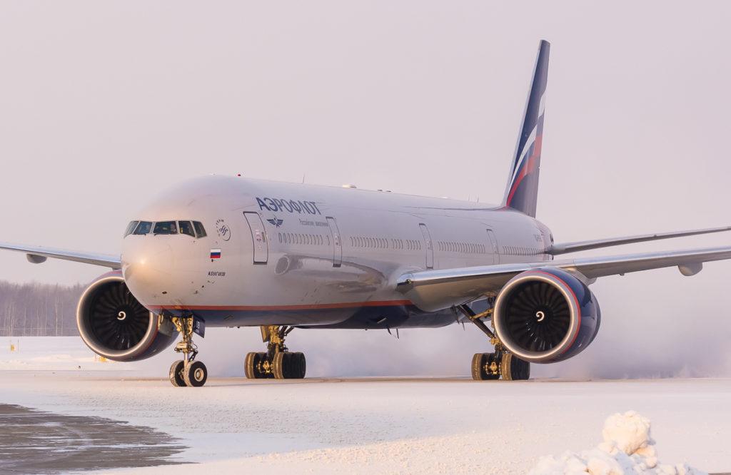 Рейс авиакомпании Аэрофлот, летевший из Хабаровска в Москву, приземлился в Якутии