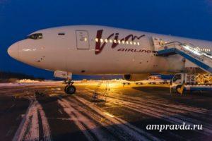 Авиакомпания ВИМ-Авиа впервые выполнила рейс в Благовещенск на Boeing 777