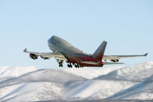 Авиакомпания Россия выполняла рейс в Петропавловск-Камчатский на самолете Boeing 747