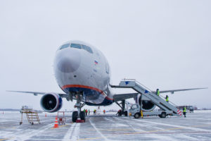 аэропорт Южно-Сахалинска, авиакомпании Аэрофлот