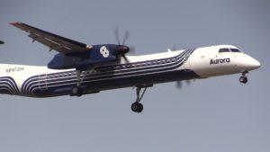 В аэропорт Южно-Сахалинска вернулся самолет авиакомпании Аврора