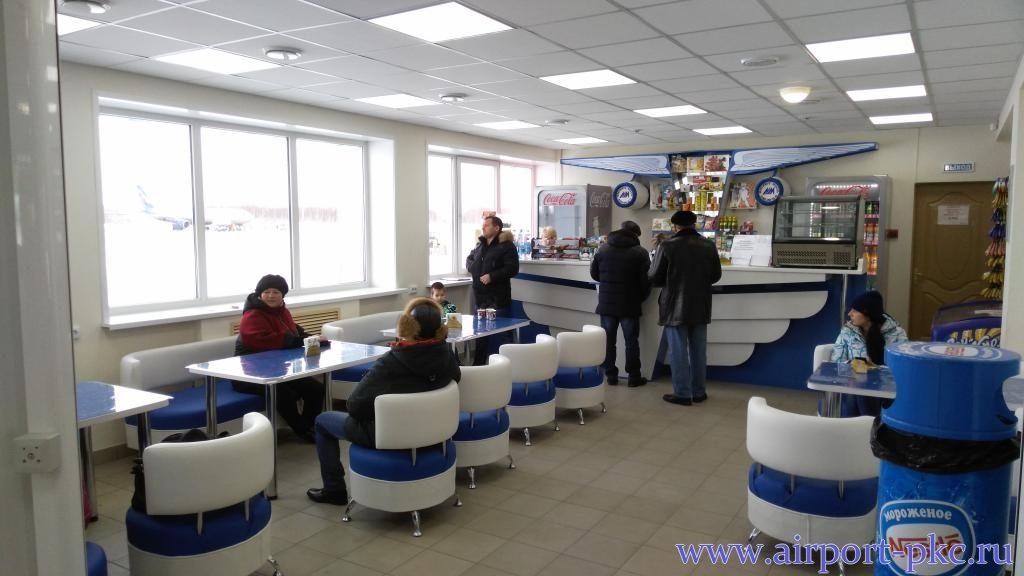 В здании аэропорта Петропавловска-Камчатского открылся новый буфет