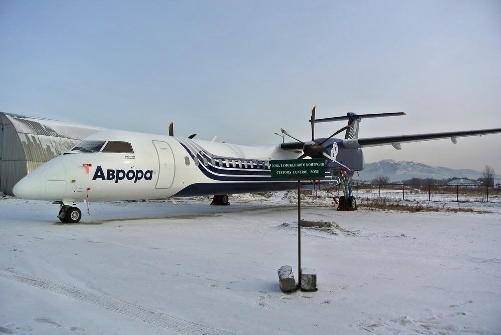 Парк авиакомпании Аврора пополнился новым самолетом