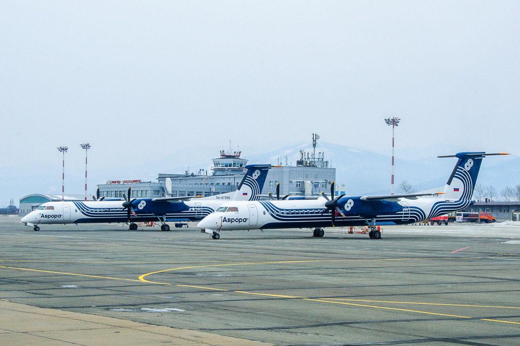 Самолет авиакомпании Аврора вернулся из-за не исправности в аэропорт вылета