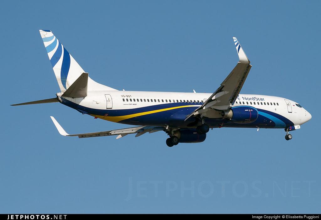 Boeing 737-800(WL) бортовой номер VQ-BQT