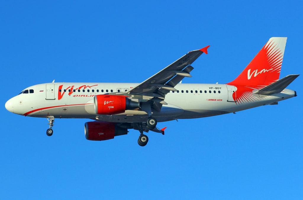 Airbus A319-112 бортовой номер VP-BDY