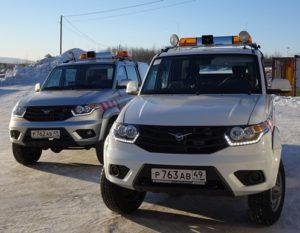Аэропорт Магадана обзавелся двумя новыми спецавтомобилями