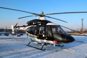 В аэропорту Якутска проходят испытания вертолета Ансат