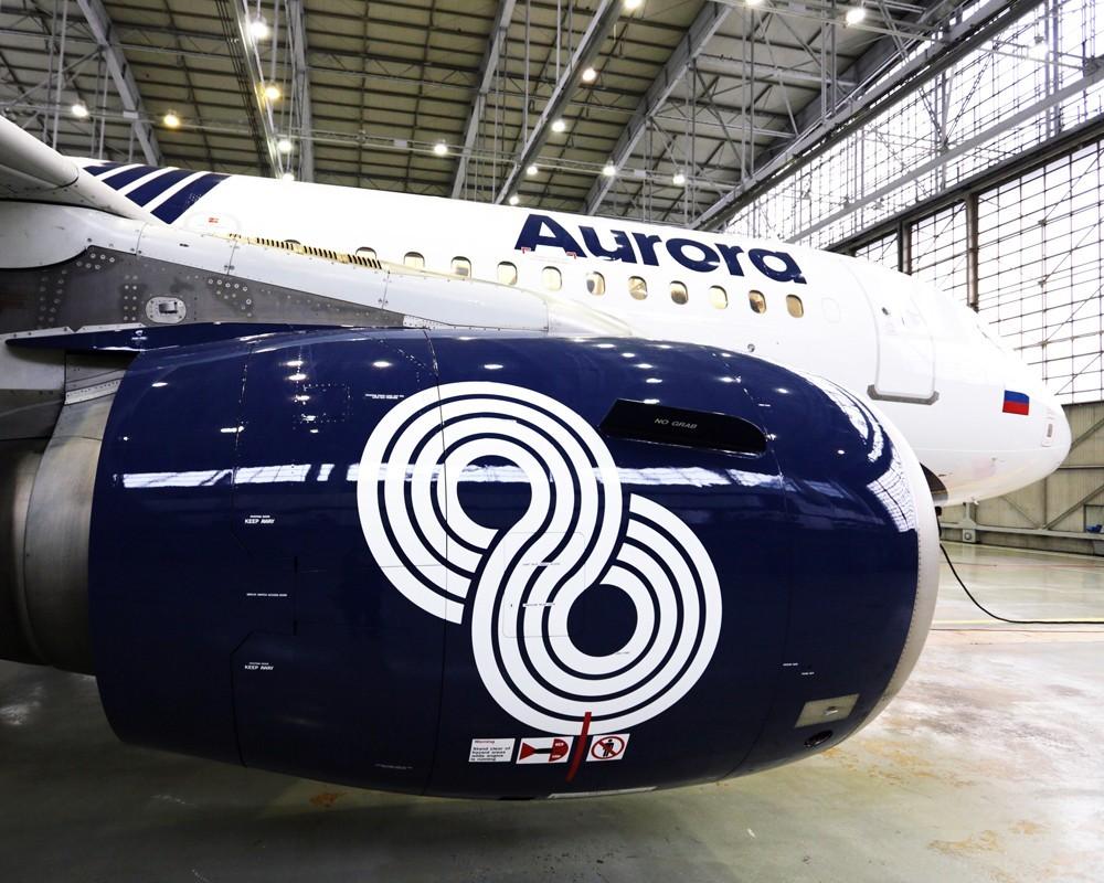 Пассажиропоток авиакомпания Аврора увеличился более чем 20% по сравнению с 2015 годом