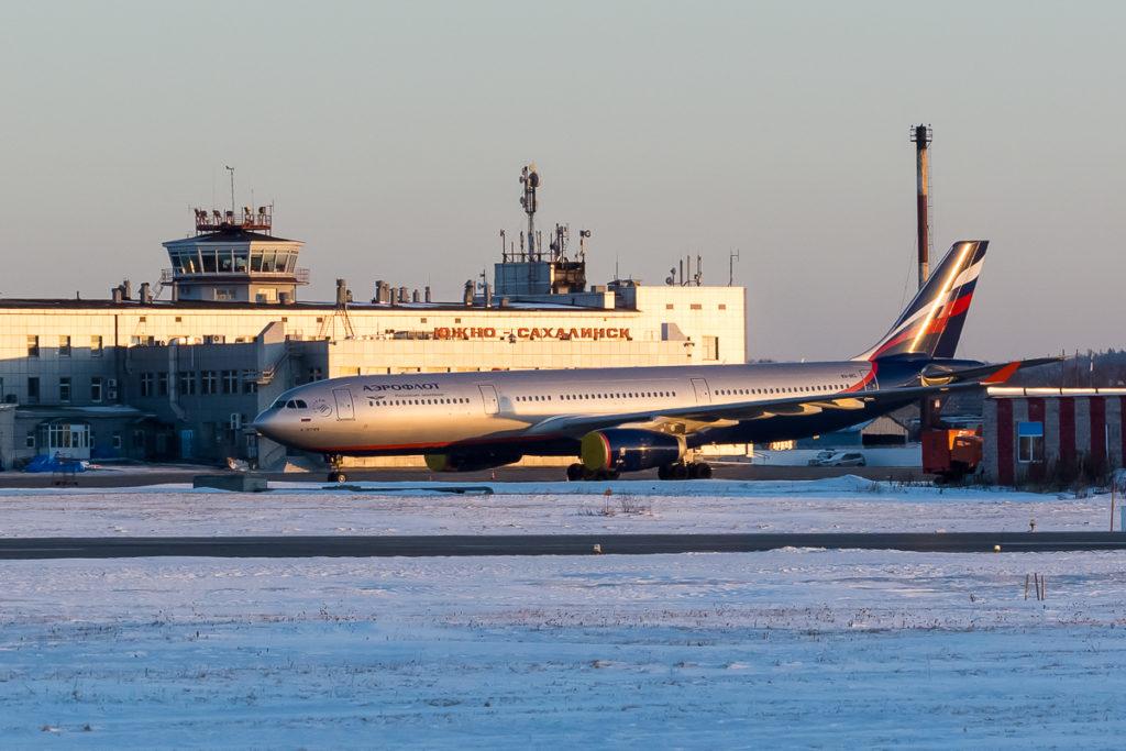 Пассажиропоток в аэропорту Южно-Сахалинска вырос 10,5% в 2016 году
