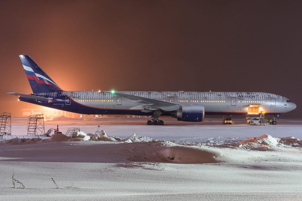 Рейс аэрофлот не смог вовремя вылететь из аэропорта Южно-Сахалинска