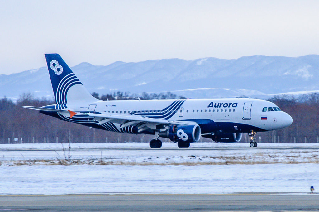 Airbus A319-111, регистрация: VP-BWL