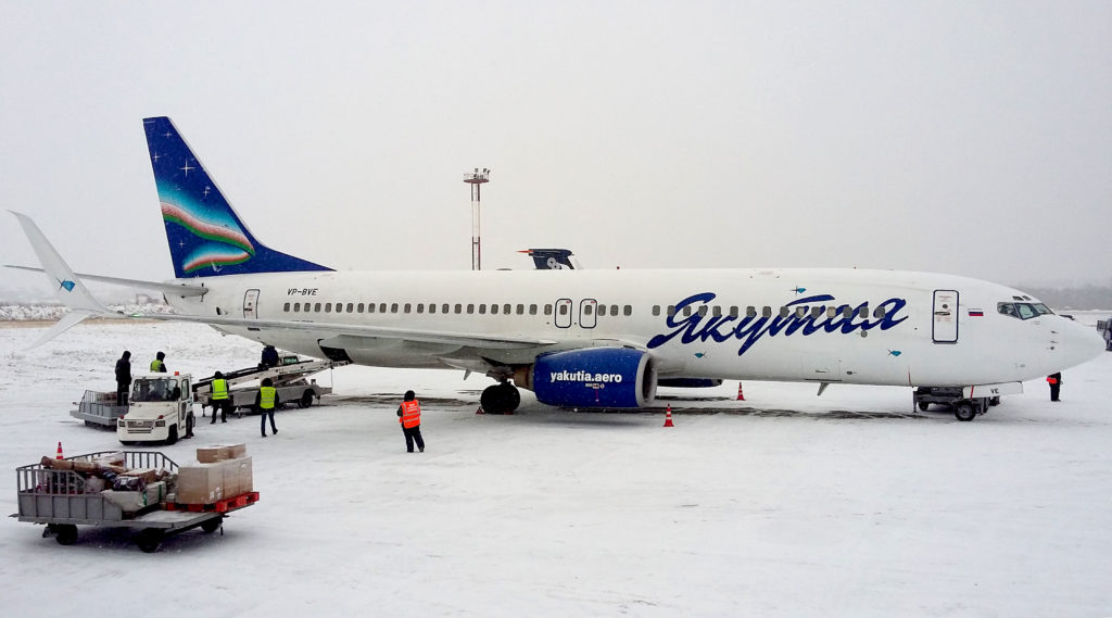 Boeing 737-800(WL), регистрация VP-BVE