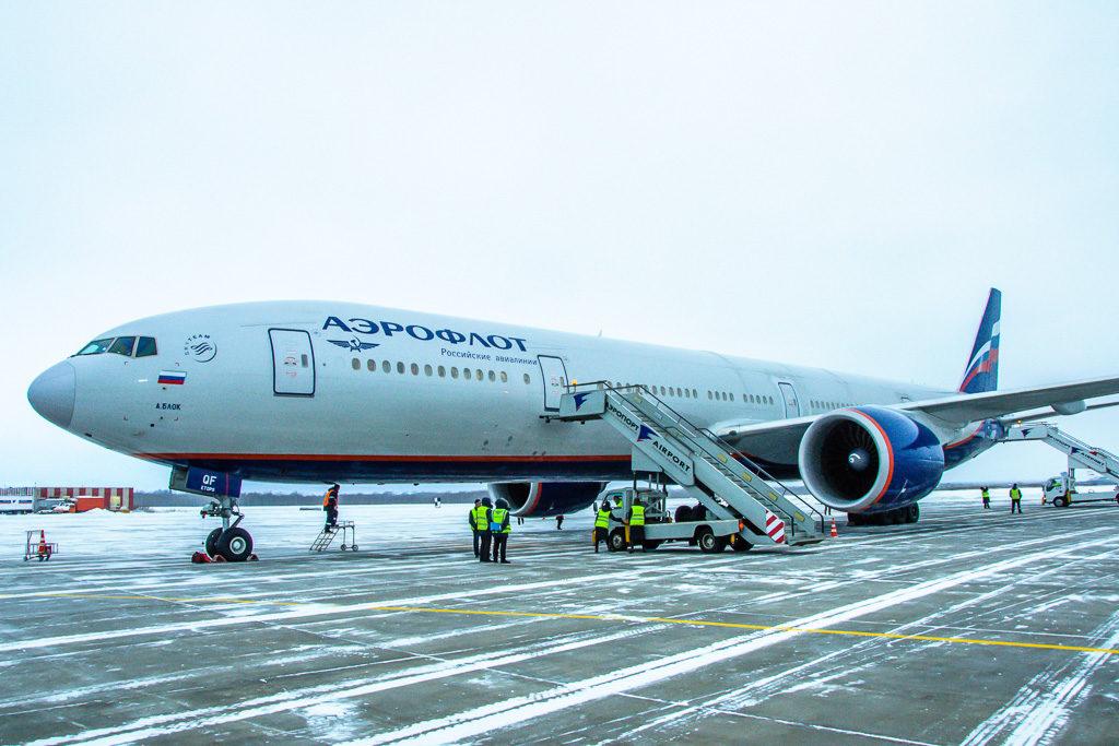 Airbus A319-111 с бортовым номером VQ-BBD, входящий в парк авиакомпании «Аврора» Конструктивный номер (MSN) — 3838 Первый полет — 11 мая 2009 Возраст — 7,8 лет Построен — Toulouse С 18 мая 2009 по август 2014 эксплуатировался авиакомпаний «Аэрофлот», после был передан авиакомпании «Аврора» входящей в группу «Аэрофлот», где и выполняет рейсы по сегодняшний день. Салон самолета рассчитан на 116 пассажиров, из них 20 размещаются в бизнес-классе и 96 в экономическом. Схема салона: