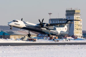 De Havilland Canada DHC-8-402Q Dash 8, регистрация: RA-67254