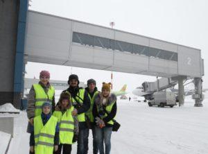 В аэропорту Владивостока прошла экскурсия