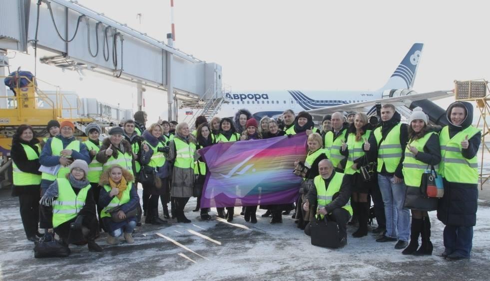 В аэропорту Владивостока собрали представителей всех СМИ региона для экскурсии