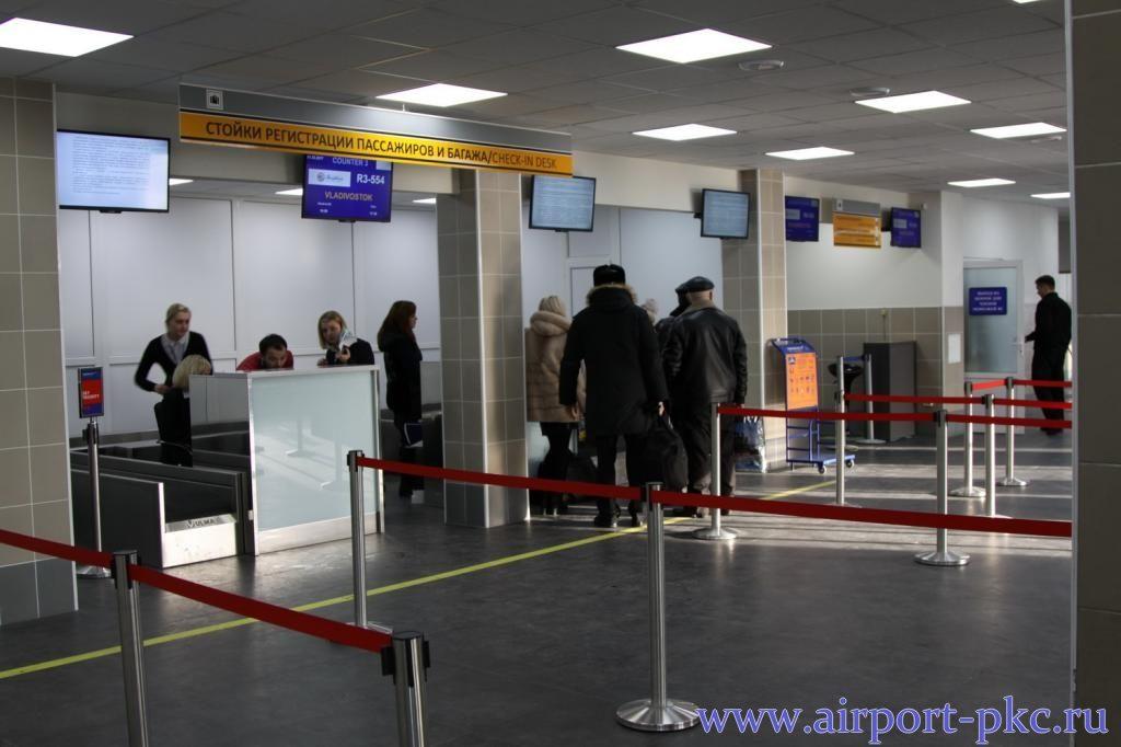 В аэропорту Петропавловска-Камчатского появилась новая система регистрации пассажиров