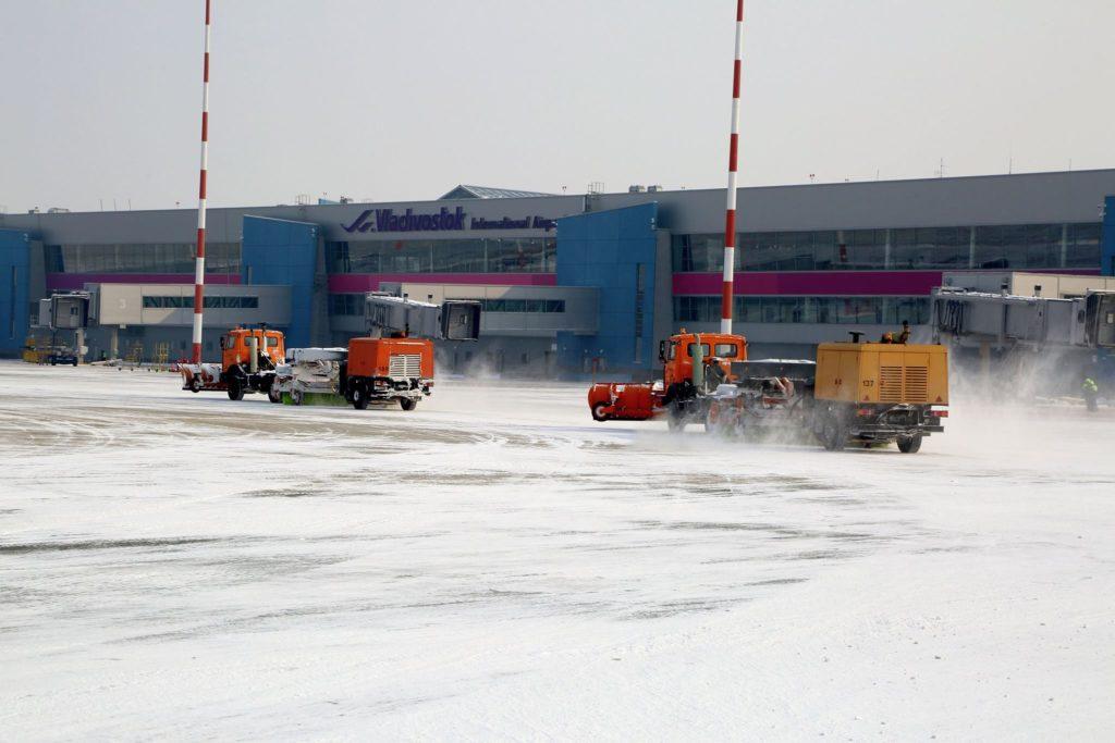 Рост пассажиропотока наблюдается в начале 2017 года в аэропорту Владивостока