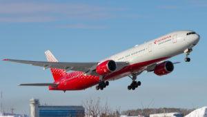Boeing 777-300, регистрация: EI-UNP (Магадан)