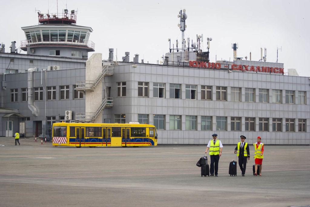 Аэропорт «Южно‐Сахалинск» перешел на летнее расписание