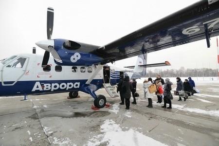 Для выполнения рейсов авиакомпании Аврора на Курильский острова приобретут два самолета DHC 6