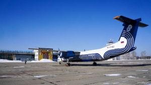 Самолет авиакомпании Аврора наконец приземлился в аэропорту Хурба
