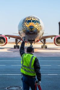 В аэропорту Владивостока приземлился Леолет