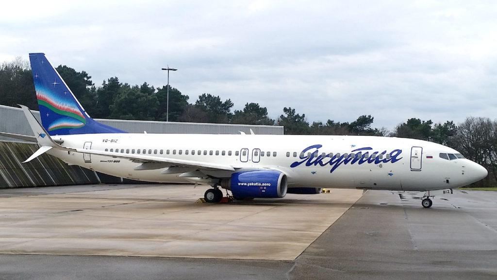 Boeing 737-800 авиакомпании «Якутия» выполнил первый рейс